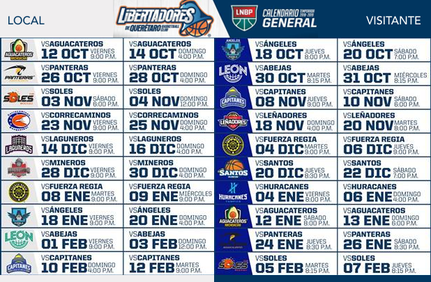 Libertadores Ya Tiene Calendario De Juegos Update Mexico