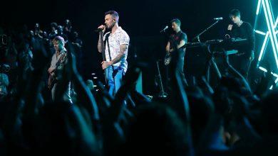 Photo of Maroon 5 en el Super Bowl LIII