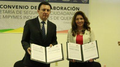 Photo of Firman AMIQRO y Seguridad Ciudadana convenio para impulsar la prevención ciudadana
