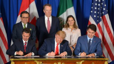 Photo of México, Estados Unidos y Canadá firman el T-MEC