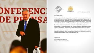 Photo of Gobierno federal quitó y regresó apoyos para Olimpiada de Matemáticas