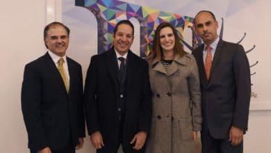 Photo of Reunión del Gobernador de Querétaro con el presidente de Kellogg´s México para impulsar la entidad