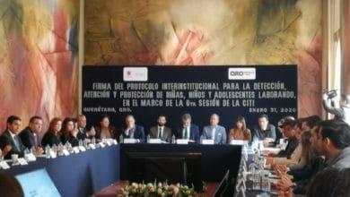 Photo of Firman protocolo para combatir trabajo infantil, en Querétaro
