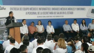 Photo of Invierten 30.2 mdp en equipo médico e informático para personal de la Secretaría de Salud Estatal