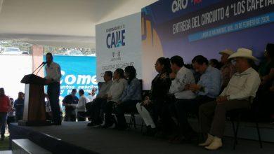 """Photo of Entregan circuito 4 """"Los cafetales"""" en Landa de Matamoros"""