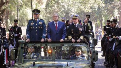 Photo of AMLO encabeza el 107 Aniversario de la Marcha de la Lealtad