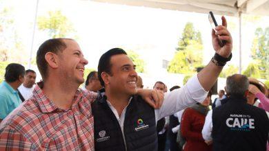 Photo of Entregan el Gobernador y el Alcalde el circuito Robles-Sabino en Jurica.