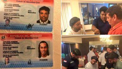 Photo of Ronaldhino es detenido en Paraguay por el uso de pasaporte Falso