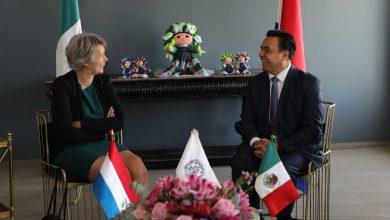 Photo of Nava se reúne con Embajadora de los Países Bajos
