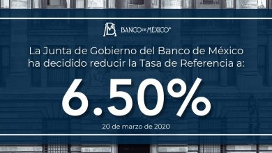 Photo of Banco de México coloca tasa de interés en de referencia de 6.5%