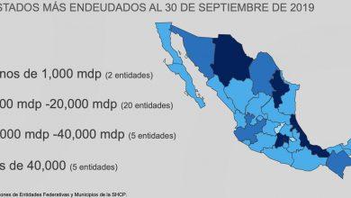 Photo of ¿Cuánto deberías aportar para pagar la deuda pública de tu estado? Si vives en Querétaro y Tlaxcala debes aportar menos