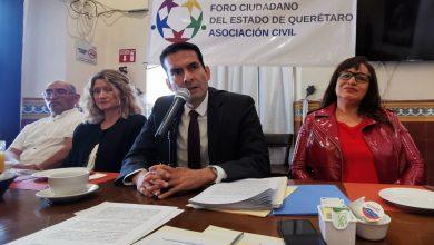 Photo of Presentan 'Foro Ciudadano del Estado de Querétaro, A.C.'
