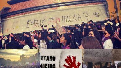 Photo of Marcha feminista en la capital de Querétaro