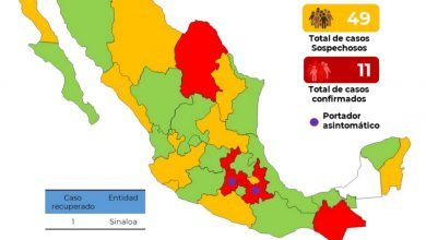 Photo of 11 casos de Covid 19 confirmados en México