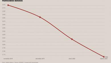 Photo of Homicidios dolosos han bajado 5.3% en tres meses, pero los feminicidios…