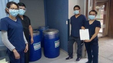 Photo of Farmapiel dona gel sanitizante a hospitales
