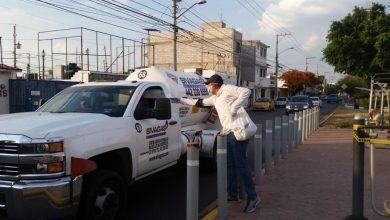 Photo of Entregan kits con cubrebocas y gel antibacterial en Corregidora