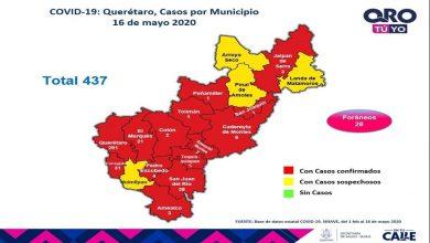 Photo of 45 nuevos casos de Covid-19 en Querétaro, la cifra más alta al momento