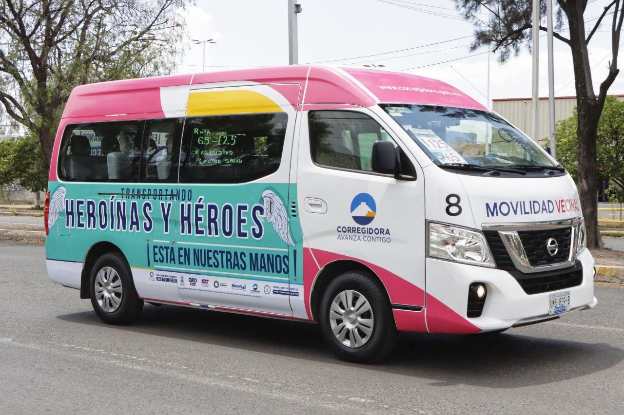 Transporte Corregidora