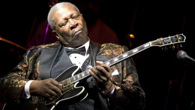 Photo of B.B. King a 5 años de su partida.