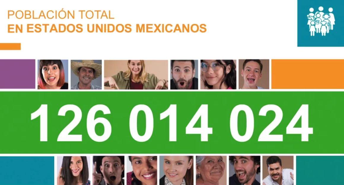 Resultados del censo cuantos mexicanos somos