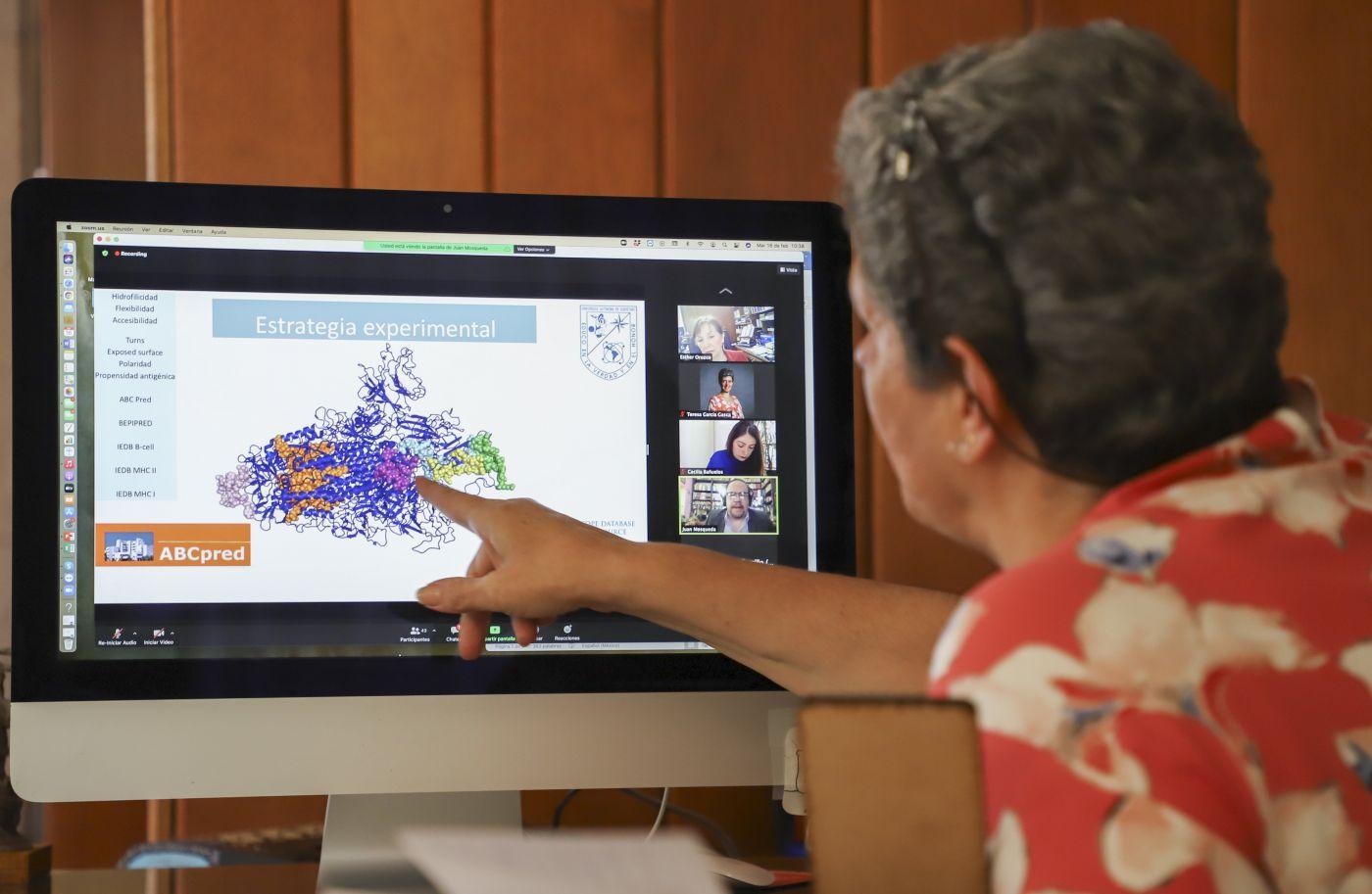 Propone Rectora de la UAQ un Plan de Trabajo Nacional para el fortalecimiento de la vacuna mexicana vs COVID-19